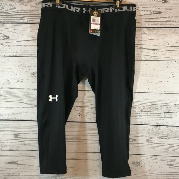 57e8d7f36bc82 Under Armour Pants | Heatgear Compression 34 Leggings Xxl | Poshmark